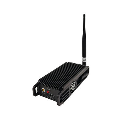 Police Body-Worn COFDM Video Transmitter FHD HDMI CVBS AES256 Encryption Low Latency